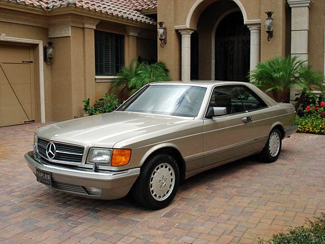 Benz sec pictures for 1986 mercedes benz 560 sec